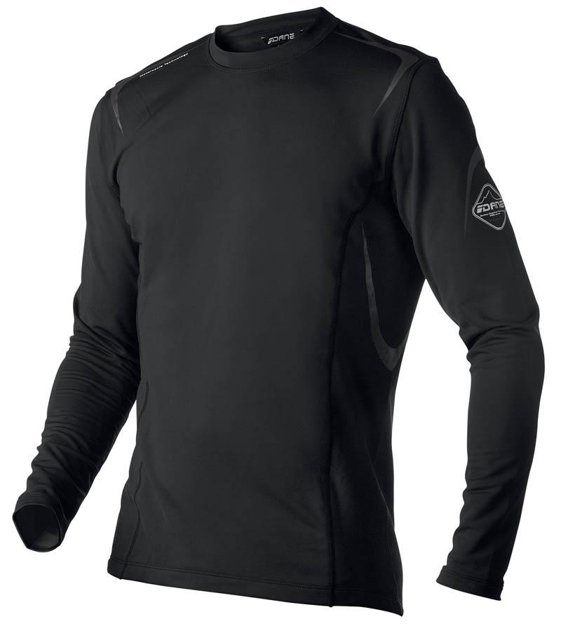 Sous-Vêtement T-shirt DANE Performance - Noir - Manche longue