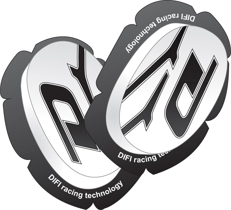 SLIDER Genoux - Kit Impact - DIFI - Blanc
