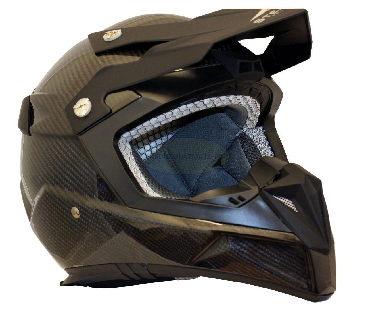 Casque Moto Cross S810 Carbone