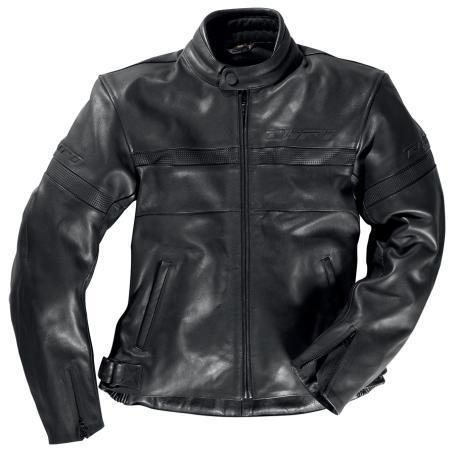 Veste cuir - Le classique blouson noir qui donne des allures de bad boy - 189.95 euros, le plus bas du marche.