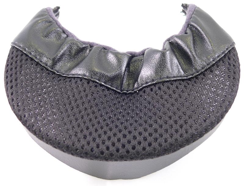 Bavette menton Noir, marque Bayard motobigstore