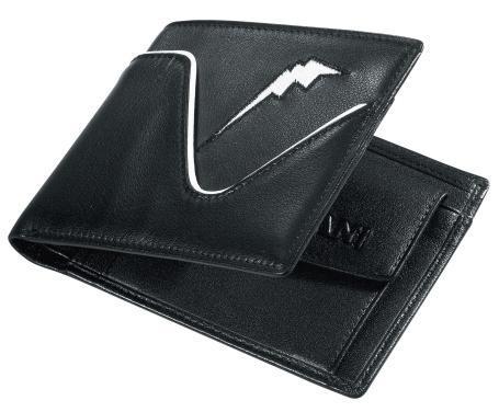 PORTEFEUILLE CUIR Noir, marque Kushitani  motobigstore