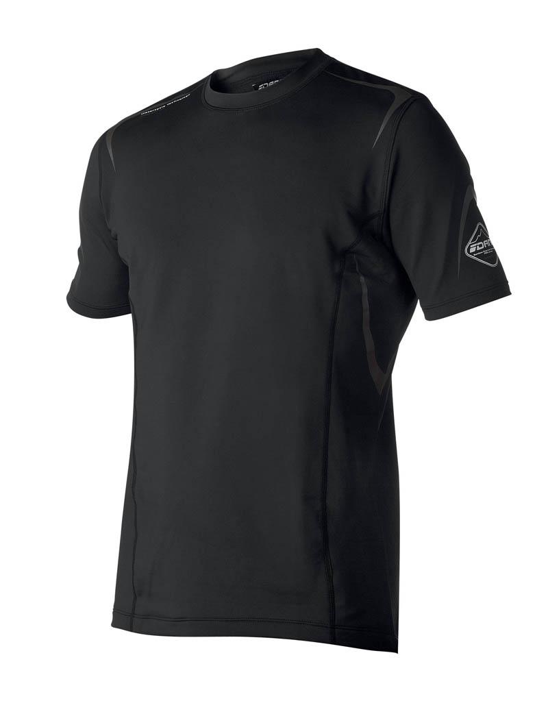 Sous-Vêtement T-shirt DANE Performance - Noir - Manches courtes