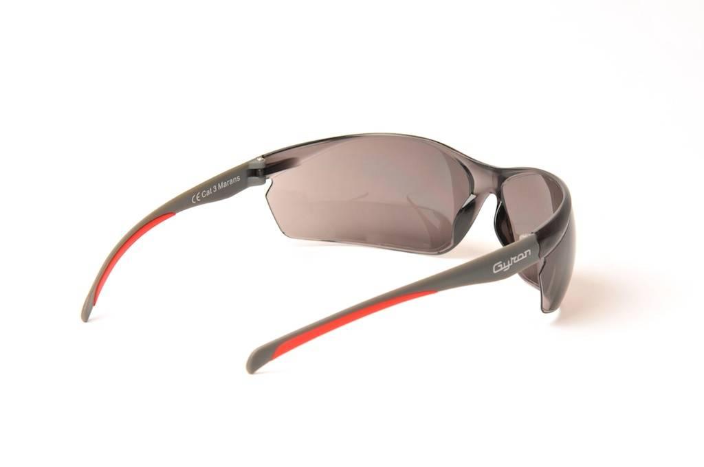 Lunettes de protection Moto Marans - Gyron - Gris Fume - Image 1