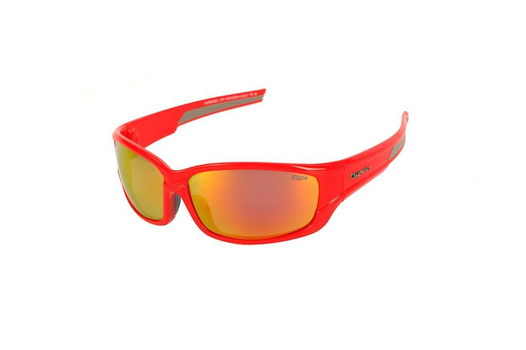 Lunettes de protection Moto Aludra Red - Gyron - Image 2