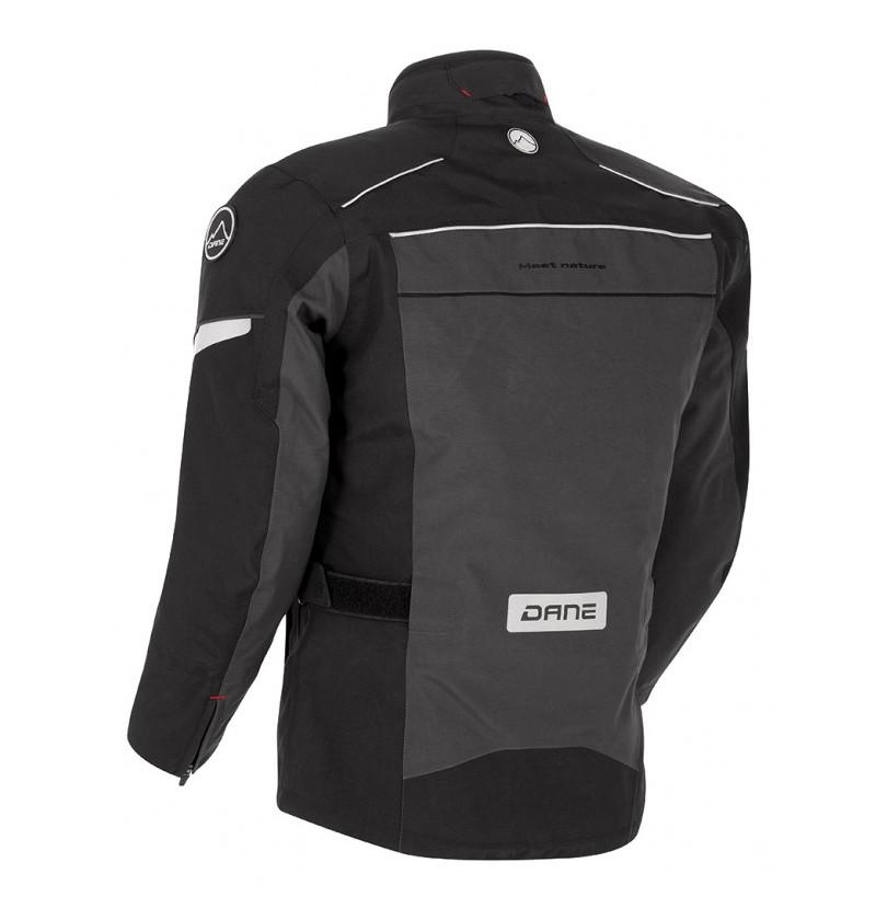 Blouson Moto Nysted Gore-tex gris/noir - DANE - Image 1