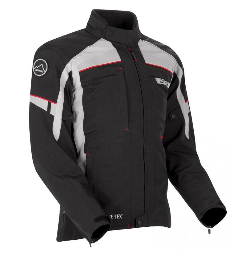 Blouson Moto Nysted Gore-tex gris/noir - DANE - Image 2