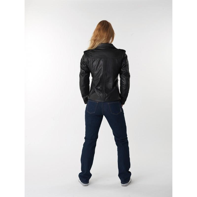Veste femme moto MARLEEN Noir, DIFI - Image 2