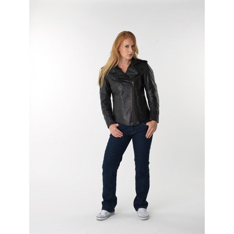 Veste femme moto MARLEEN Noir, DIFI - Image 1