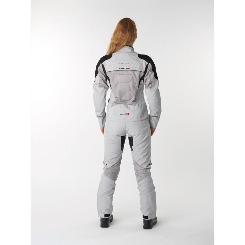Veste femme d'été FLORIDA gris/blanc - DIFI - Image 2