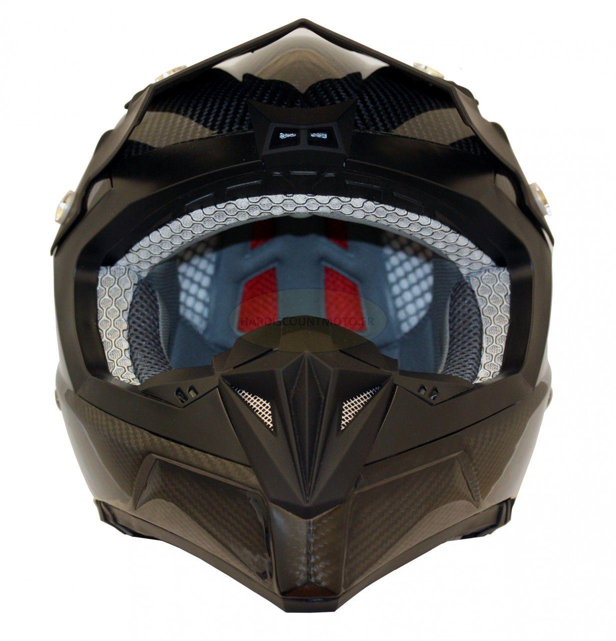 Casque Moto Cross S810 Carbone - Image 5