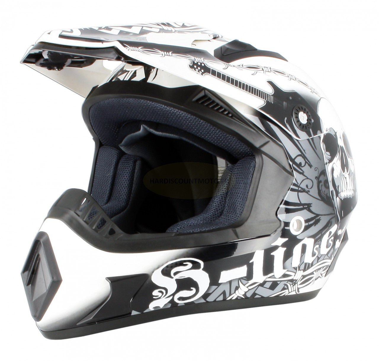 Cross Skeleton Noir Blanc XS