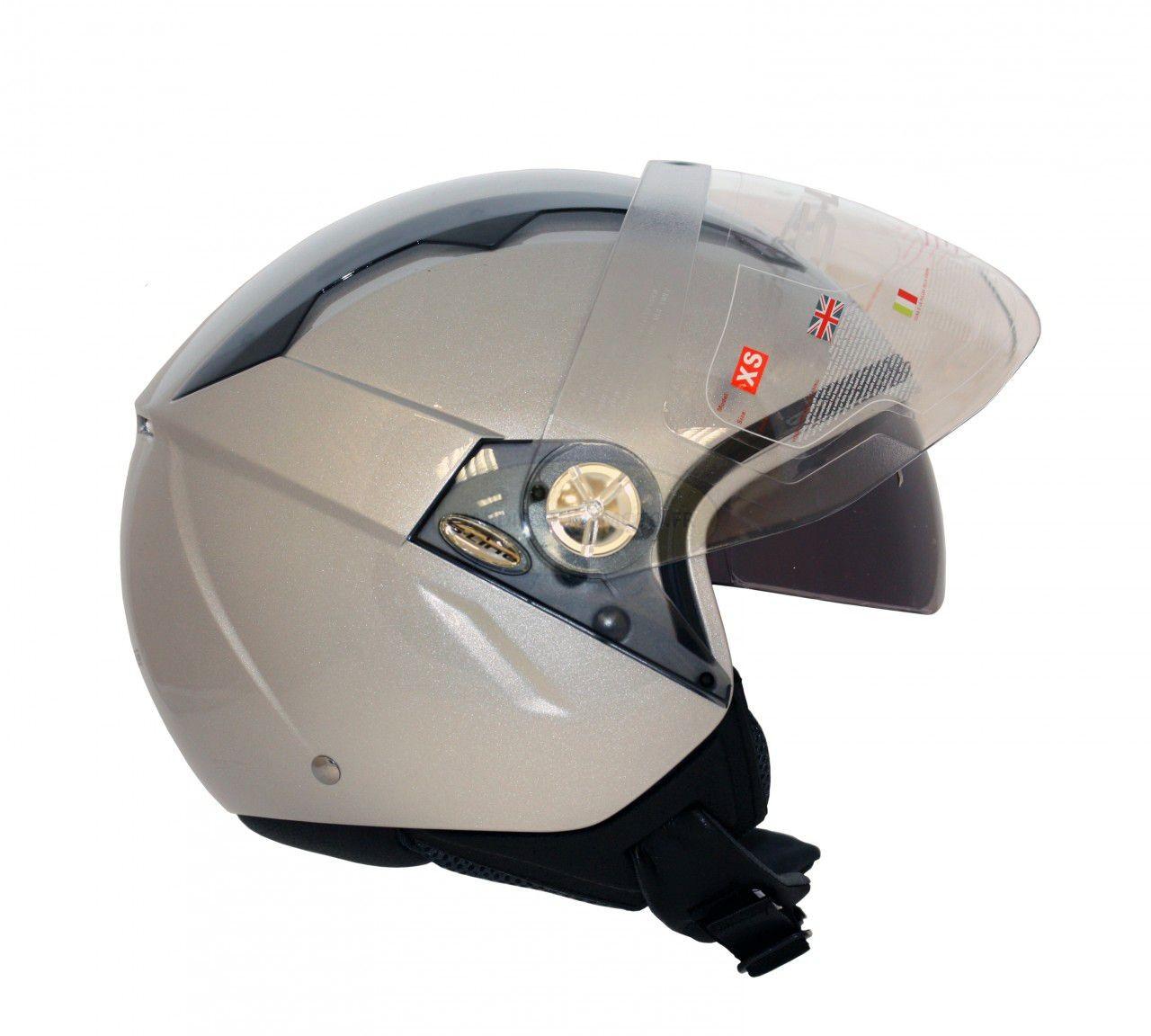 Casque moto Demi Jet S700 de S-Line - Image 1