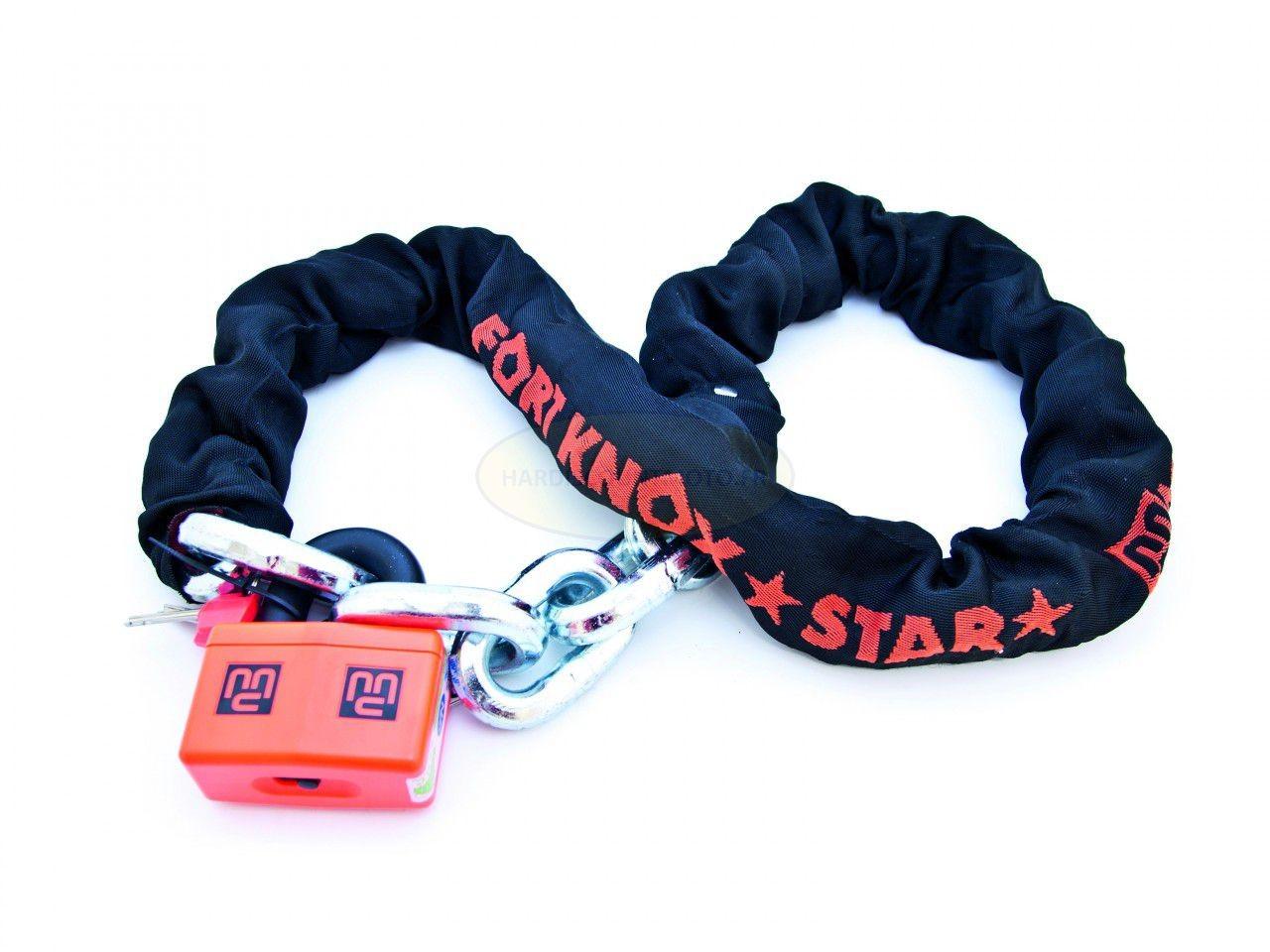Chaine + cadenas SRA 150 cm